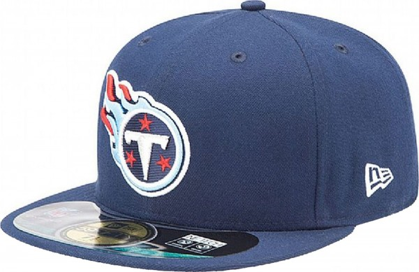 New Era - NFL Tennessee Titans Authentic On-Field 59Fifty Cap - navy
