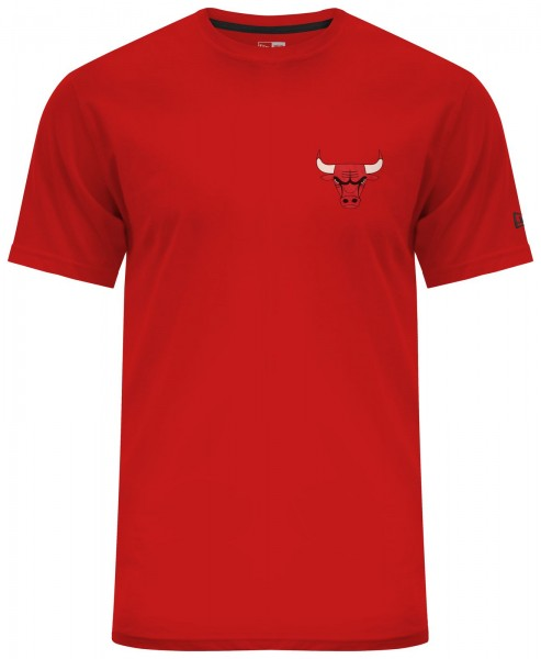 New Era - NBA Chicago Bulls Chest N Back T-Shirt - red