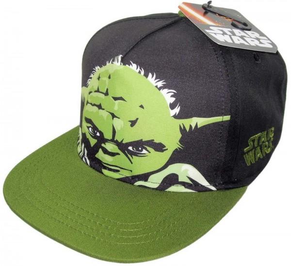 Disney - Star Wars Yoda Snapback Kids Cap - Schwarz