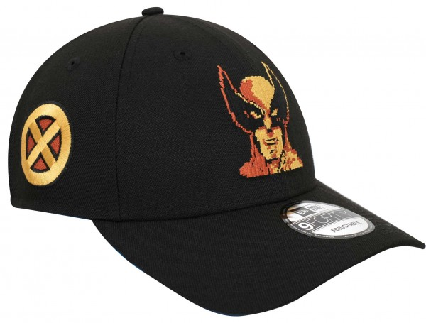 New Era - Marvel Wolverine 80th 9Forty Snapback Cap - Schwarz