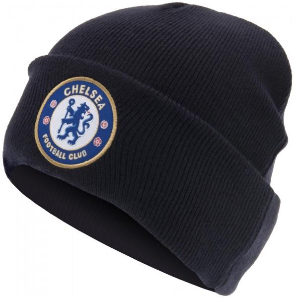 Forever Collectibles - EPL Chelsea FC Cuff Beanie - Blau Seitenansicht