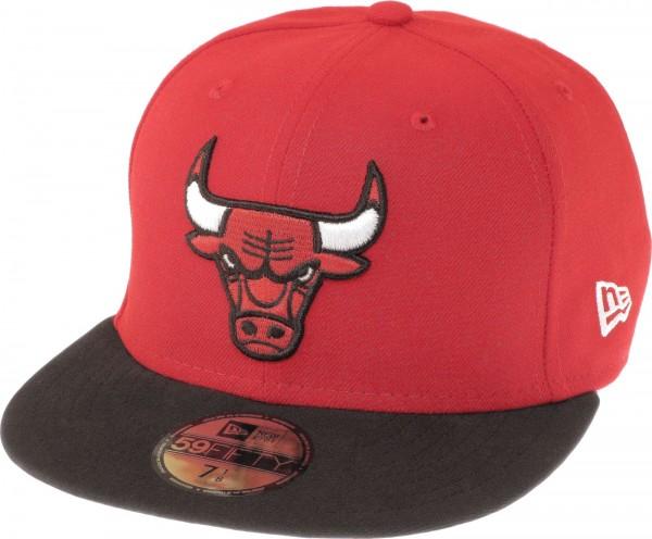 New Era - NBA Chicago Bulls Basic 59Fifty Cap - red