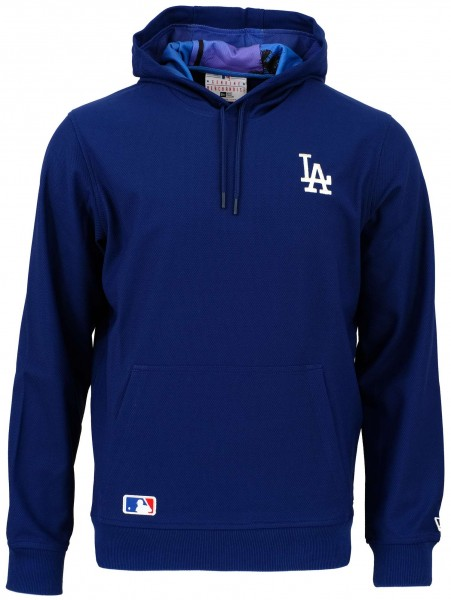 New Era - MLB Los Angeles Dodgers West Coast Hoodie - Blau Vorderansicht