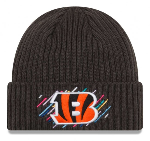 New Era - NFL Cincinnati Bengals 2021 Crucial Catch Knit - Grau Vorderansicht
