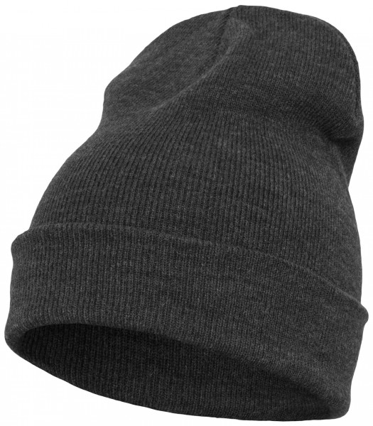Yupoong Heavy Knit Cuffed Beanie - charcoal