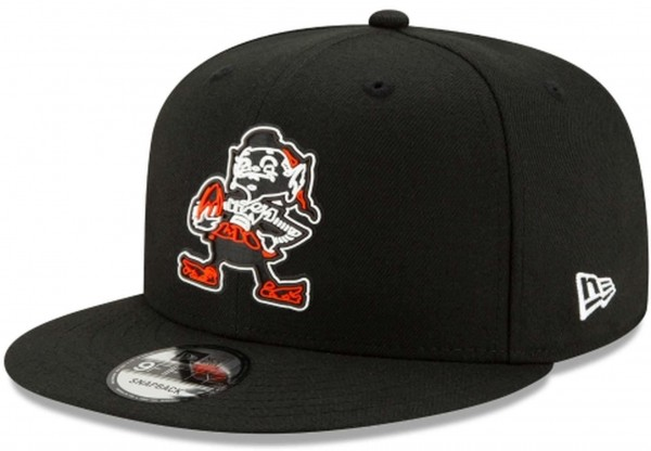 New Era - NFL Cleveland Browns 2020 Draft Official 9Fifty Snapback Cap - Schwarz Ansicht vorne rechts