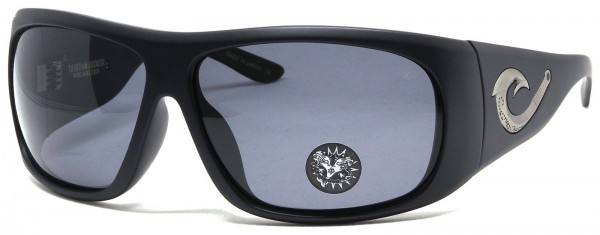 Black Flys - Tahitian Hooker - Sonnenbrille polarisiert - Schwarz matt