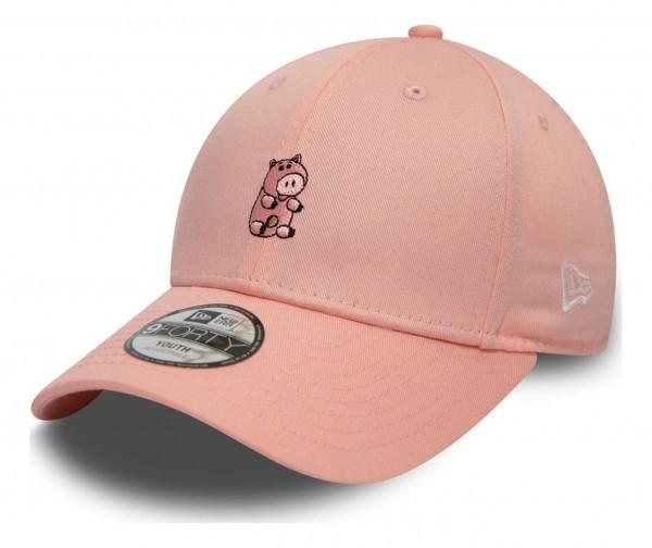 New Era - Disney Toy Story Small Logo Hamm Kids Strapback Cap - Pink Ansicht vorne schräg links