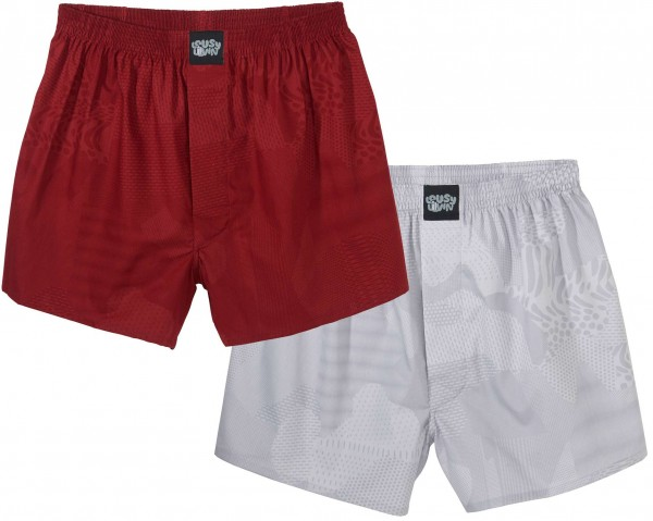 Lousy Livin - Lousy 2 Pack Boxershorts - Mehrfarbig Vorderansicht
