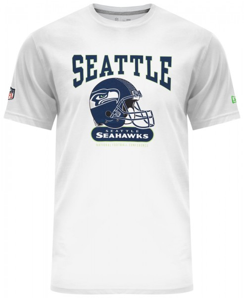 New Era - NFL Seattle Seahawks Archie T-Shirt - Weiß