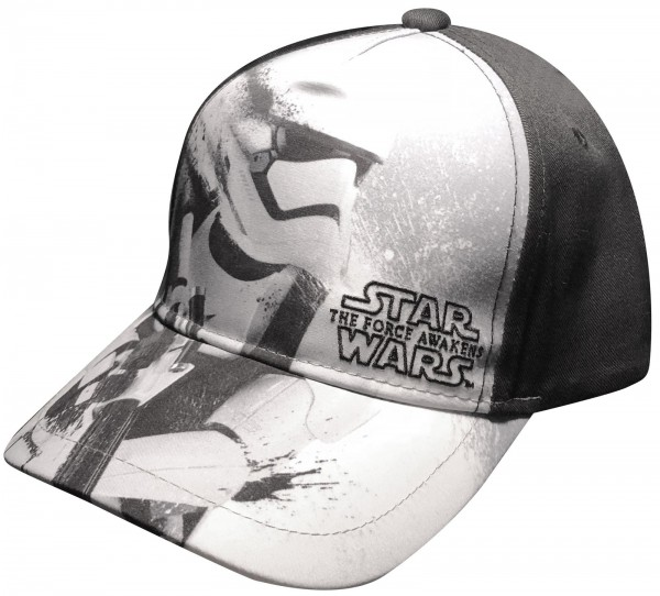 Disney - Star Wars The Force Awakens Stormtrooper Kids Snapback Cap - Schwarz