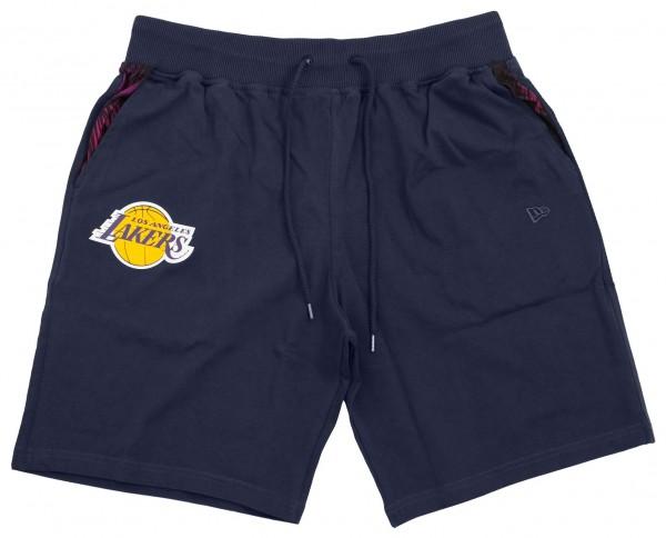 New Era - NBA Los Angeles Lakers Coastal Heat Shorts - Lila Vorderansicht