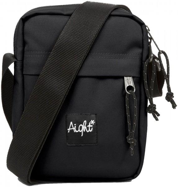 Aight* - Mr Stuff Holder Bag Tasche - Schwarz Ansicht Vorderseite