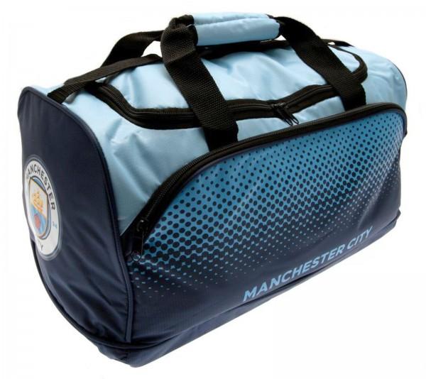 Forever Collectibles - EPL Manchester City Sporttasche - Blau Gesamtansicht