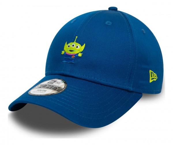 New Era - Disney Toy Story Small Logo Alien Kids Strapback Cap - Blau Ansicht vorne schräg links