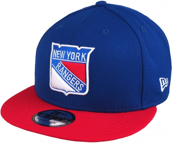New Era - NHL New York Rangers 9Fifty Snapback Cap - blue-red