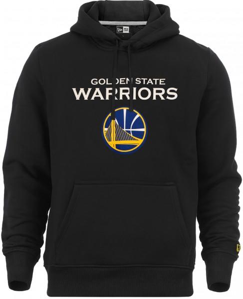 New Era - NBA Golden State Warriors Team Logo Hoodie - Schwarz