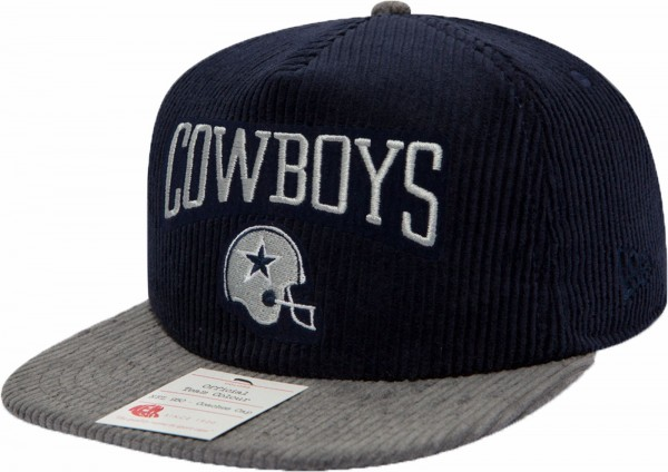 New Era - NFL Dallas Cowboys Heritage Aframe 9Fifty Cap - navy