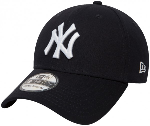 New Era - MLB New York Yankees Essential 39Thirty Cap - Blau-Weiß