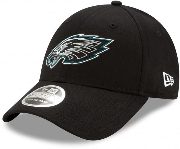 New Era - NFL Philadelphia Eagles 2020 Draft Official 9Forty Snapback Cap - Schwarz An sicht vorne rechts