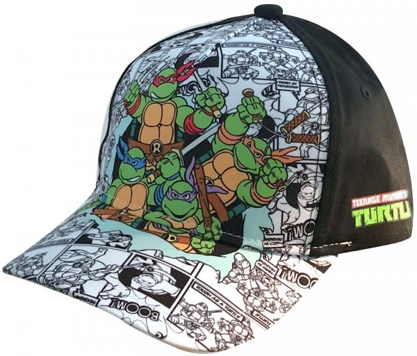 Nickelodeon - Teenage Mutant Ninja Turtles Kids Snapback Cap - Schwarz