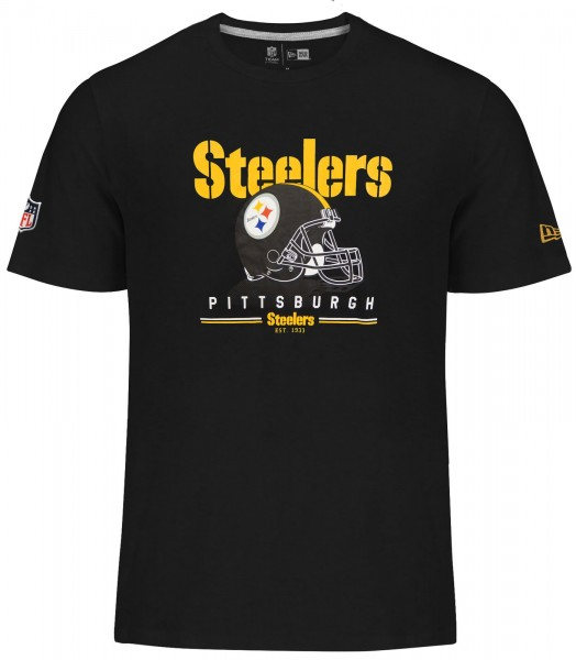 New Era - NFL Pittsburgh Steelers Fan Pack T-Shirt - black