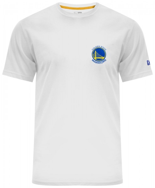 New Era - NBA Golden State Warriors Chest N Back T-Shirt - white