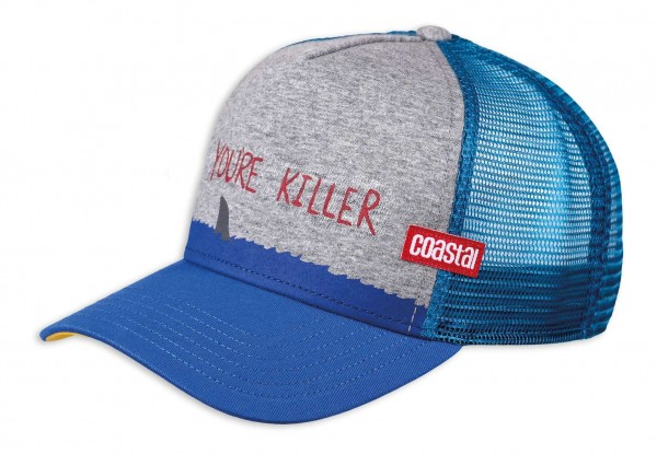 Coastal - Killer Dude Trucker Snapback Cap - Mehrfarbig Ansicht vorne schräg links
