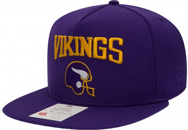 New Era - NFL Minnesota Vikings Heritage Aframe 9Fifty Cap - purple