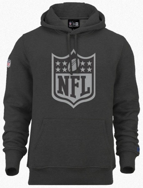 New Era - NFL Shield Logo Two Tone Hoodie - grey