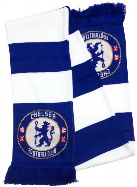 Forever Collectibles - EPL Chelsea FC Schal - Blau Gesamtansicht