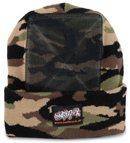 SR Rocking Gear - Swift Rock Camouflage Headspin Beanie - Grün