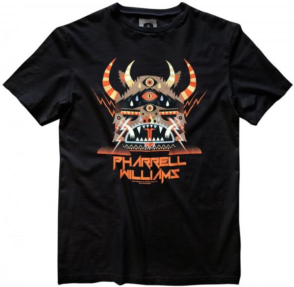 Amplified - Pharrell 3 Monster Hat T-Shirt - Schwarz