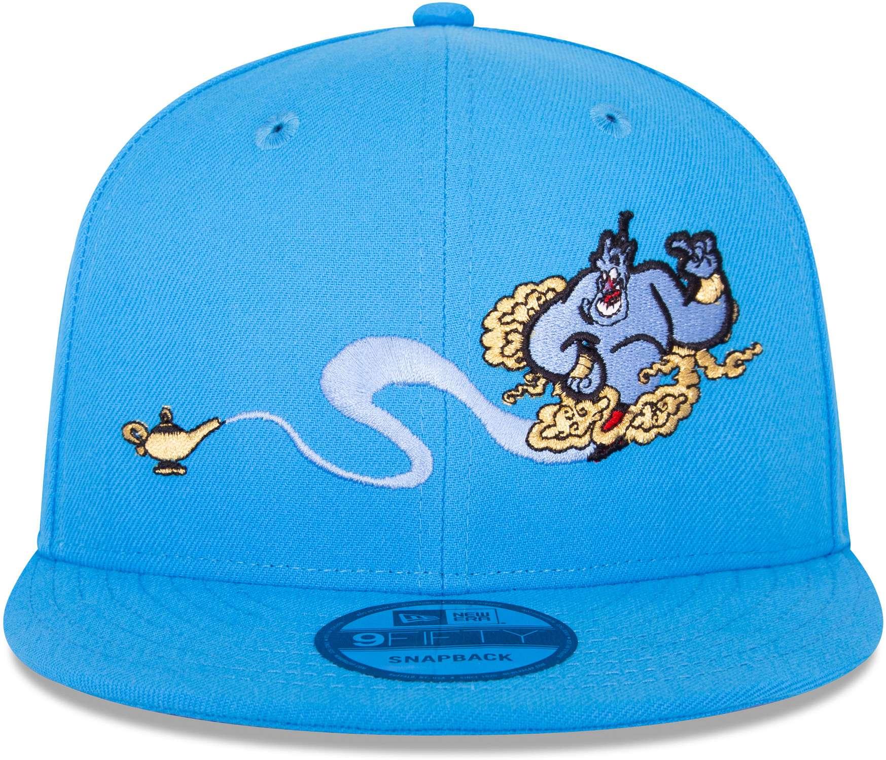 a00c4ec2b76fff ... Vorschau: New Era - Disney Aladdin Genie 9Fifty Snapback Cap - Blau  Ansicht vorderseite ...