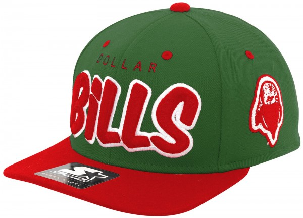 Rocawear - Starter - Dollar Bills Snapback Cap - green-red