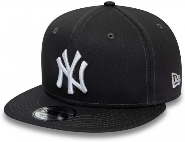 New Era - MLB New York Yankees Essential 9Fifty Snapback Cap - Grau Ansicht vorne links