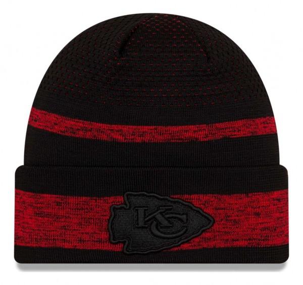 New Era - NFL Kansas City Chiefs 2021 Tech Knit Beanie - Mehrfarbig Vorderansicht