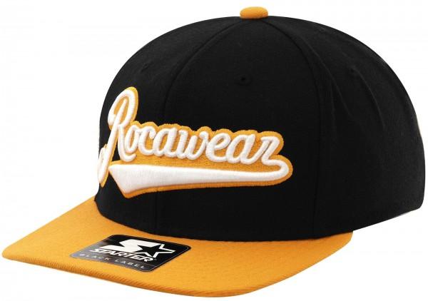Rocawear - Starter - RW Script Snapback Cap - black-orange