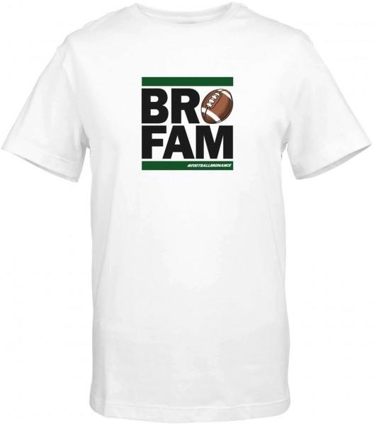 Coach Esume - BROFAM T-Shirt - Weiß Vorderansicht