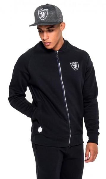 New Era - NFL Oakland Raiders Tech Series Bomberjacke - black