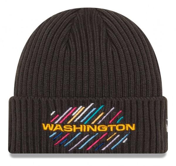 New Era - NFL Washington Football Team 2021 Crucial Catch Knit - Grau Vorderansicht