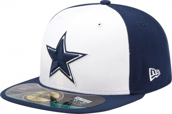 New Era - NFL Dallas Cowboys Authentic On-Field 59Fifty Cap - navy-white