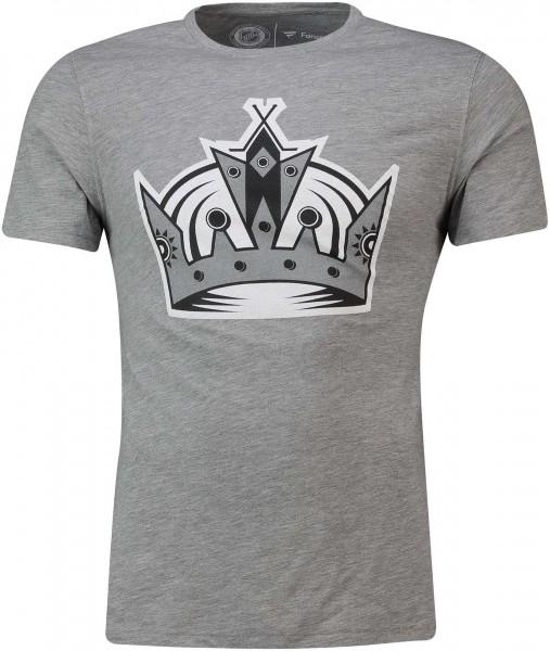 Fanatics - NHL Los Angeles Kings Secondary Core Graphic T-Shirt - Grau Vorderansicht