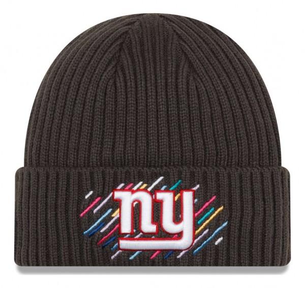New Era - NFL New York Giants 2021 Crucial Catch Knit - Grau Vorderansicht