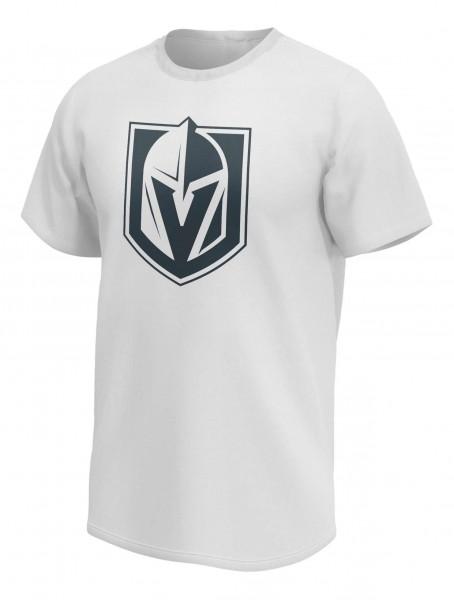 Fanatics - NHL Vegas Golden Knights Mono Core Graphic T-Shirt - Weiß Vorderansicht