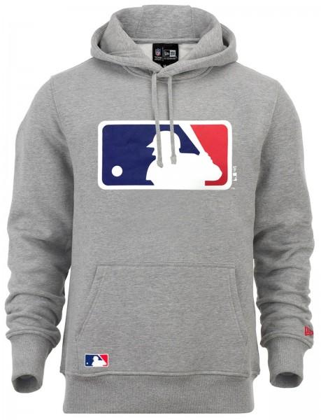 New Era - MLB Major League Baseball Logo Hoodie - grey