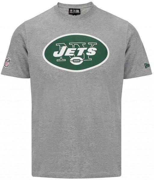 New Era - NFL Team Logo New York Jets T-Shirt - grey