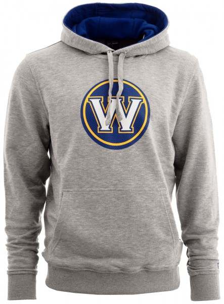 New Era - NBA Golden State Warriors Tip Off PO Hoodie - grey