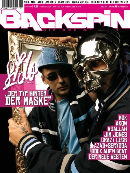 Auf dem Bild ist das Cover zu sehen der BACKSPIN Printausgabe Nummer 80