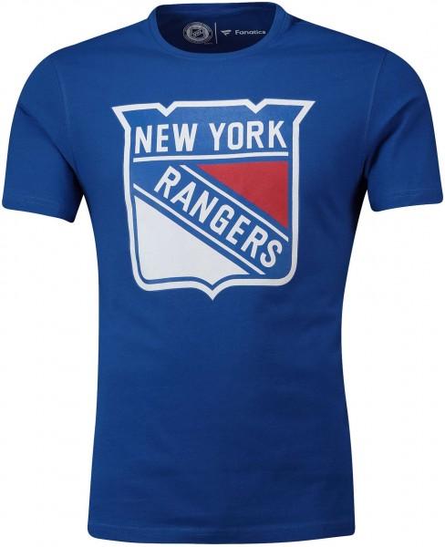 Fanatics - NHL New York Rangers Primary Core Graphic T-Shirt - Blau Vorderansicht